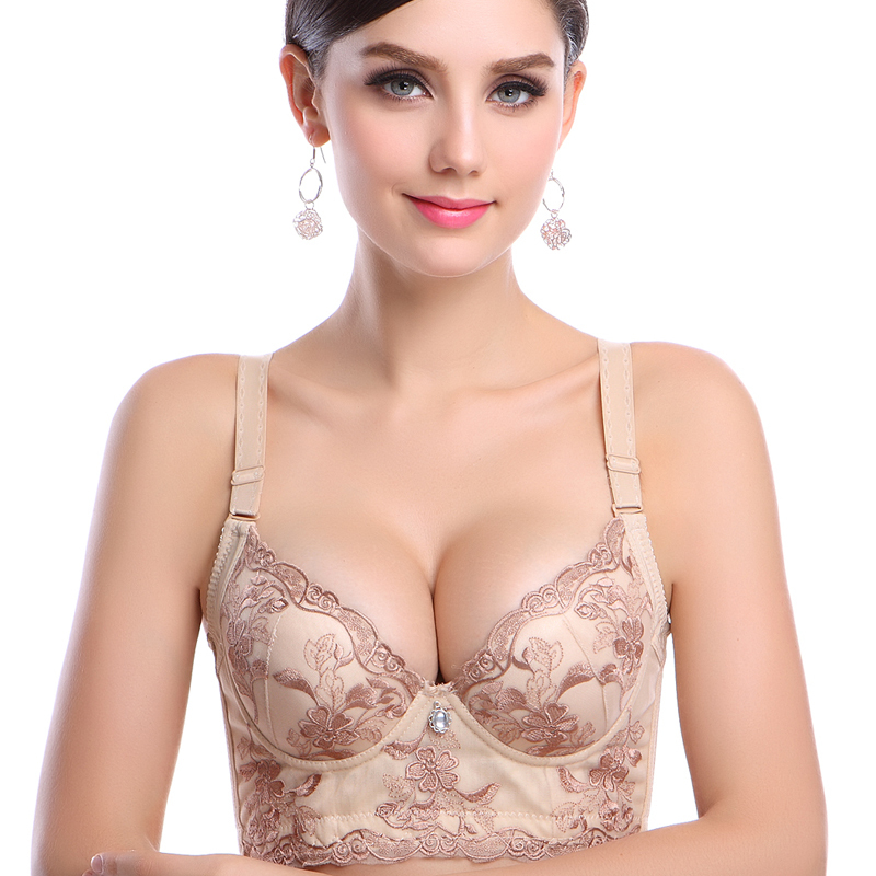d1d05ccda3fb4 Popular Non Padded Push up Bra-Buy Cheap Non Padded Push up Bra ..  Embroidery Underwear ...