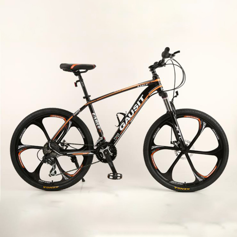 Mountain Bike Aluminum Alloy Frame 26 Inches 24 Speed Front And Rear Mechanical Disc Brake Adult Cross-Country Bicycle