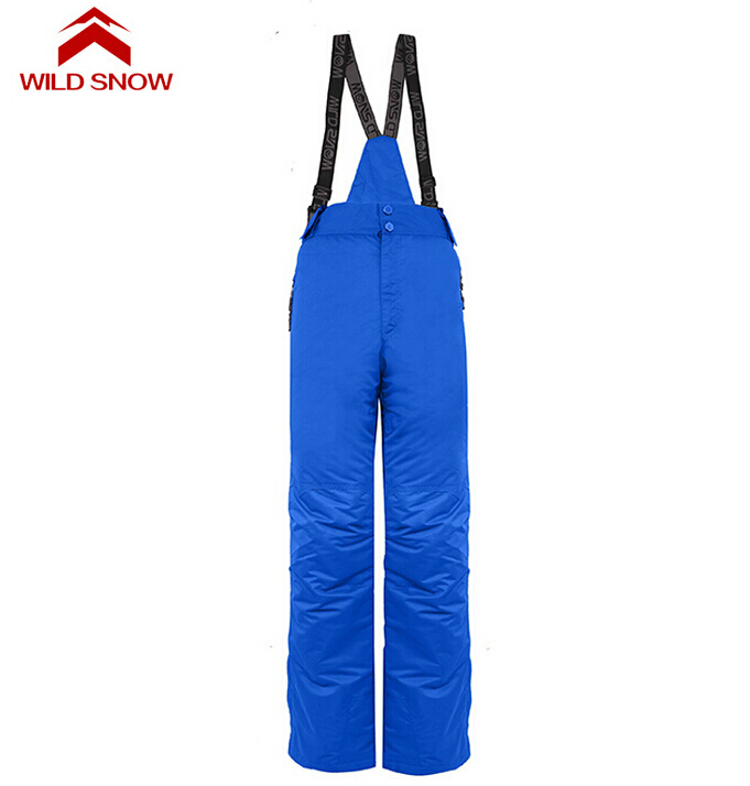 ФОТО Skiing And Snowboarding Men Pants Waterproof Denim Pants Outdoor Ice Sports Winter Camping Climbing Hiking Snowboard Pants