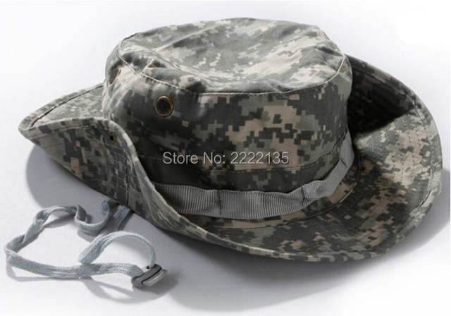 5cff5c41610 Tactical Airsoft Sniper Camouflage Boonie Hats army cadet Military cap  Summer camping Hiking man s Round Nepal