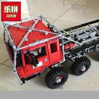 Лепин 23012 Новый 2839 шт. натуральная дизайн серии Аракава Moc эвакуатор Tatra Образование блоков Кирпичи игрушки подарок 813