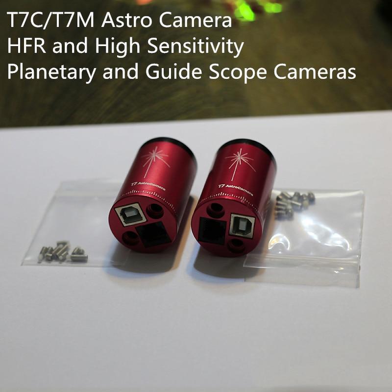 HFR Astro Câmera T7C Lente Ocular Eletrônico para Telescópio Astronômico Planetária de Alta Velocidade Digital Âmbito Guia de Fotografia