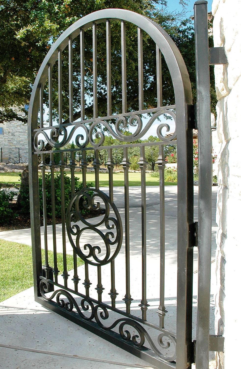 Us 26 0 Metal Gates Garden Gate Wrought Iron Fence In Doors From Home Improvement On Aliexpress 11 Double Singles Day