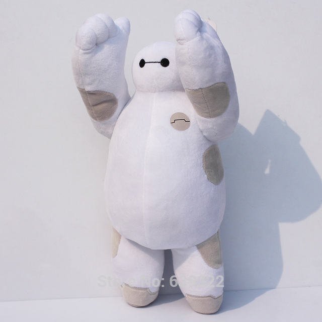 manos movibles cm big hero baymax relleno de la felpa animales juguetes regalo para