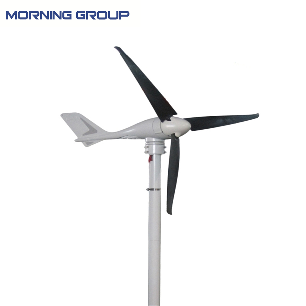 купить S-700 Marine Type Aluminum Die-Casting Wind Generator Windmill With 3 CFRP Blades And External Type On-Grid Controller по цене 26389.38 рублей
