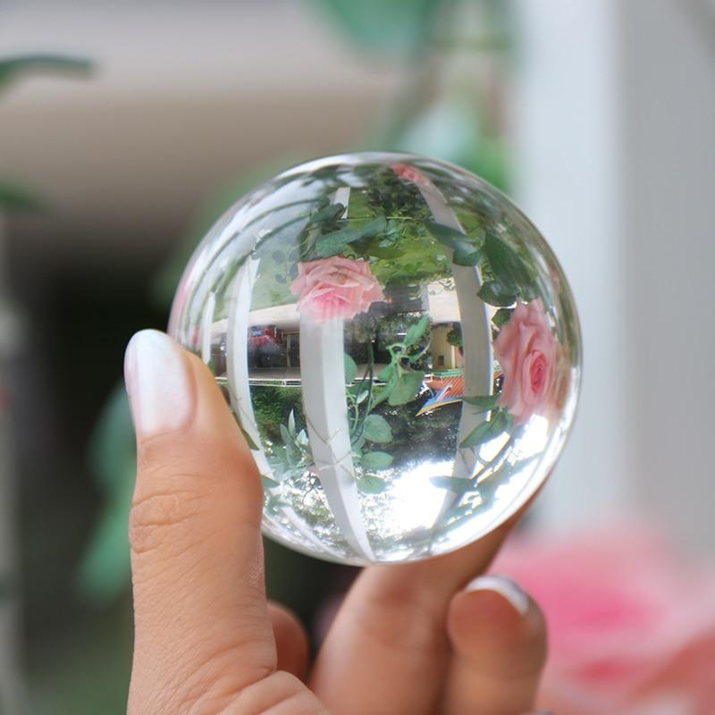 Crystal Healing Glass Ball Sphere 9
