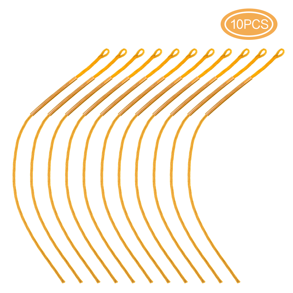 Pack of 10pcs High Tension Fly Fishing Line Braided Loop Connector 30LB