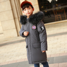 2019 New Winter Clothing Boys 4 Keep Warm 5 Children 6 Winter 9 Coat 8 Middle Aged 10 Year 12 Thicker White Duck Down Jacket children boys autumn winter coat clothing 2018 thin light long duck down jacket hooded girls winter jacket age 4 6 8 10 12 year