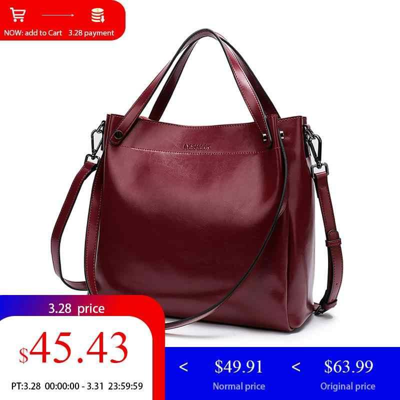 03ab2e7621e1 LY. акула сумка женская натуральная кожа сумочка женская сумка через плечо  женская большая черная сумка