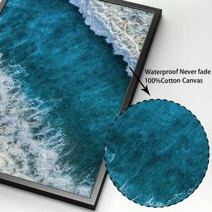Image 4 - Meer Insel Strand Boot Zitate Landschaft Wand Kunst Leinwand Malerei Nordic Poster Und Drucke Wand Bilder Für Wohnzimmer Decor