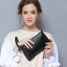 Echtes Leder damen Brieftaschen Mode Kuh Leder Markendesigner Brieftasche Frauen Damen Geldbörse Frauen Clutch Geld Taschen und Geldbörsen