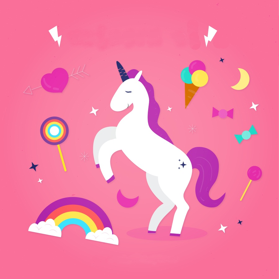 Laeacco Cute Cartoon Unicorn Rainbow Pattern Photography Backgrounds Vinyl Custom Camera Photographic Backdrop For Photo Studio shanny autumn backdrop vinyl photography backdrop prop custom studio backgrounds njy33