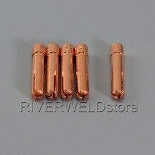 TIG Короткие цанги 0,5 мм(1,0 1 1,6 2,0 2,4 3,2 опционально) 5 шт. подходит TIG сварочный фонарь SR Пта DB WP 17 18 26 серии