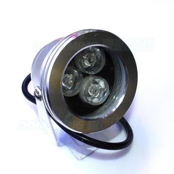 HOT style IP68 red green blue flat lens underwater swimming pool lights silver shell DC12v underwater led strip durable