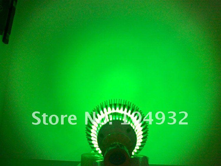 LED bulbs  12W Spotlight light 12*1W led lamp spot lights High Power+Free shipping 520-525nm green color 1w led bulbs high power 1w led lamp pure white warm white 110 120lm 30mil taiwan genesis chip free shipping