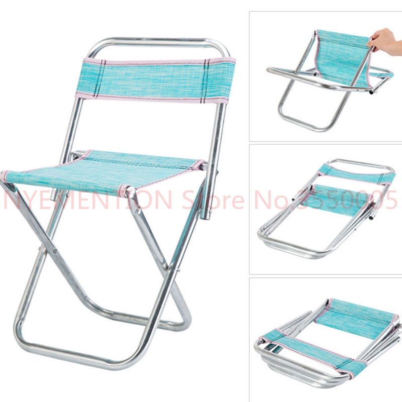 Chairs for kids Adults Party Camping Picnic Chairs Fishing Stool Protable Can Foldable Outdoor Furniture Ultralight Seat 1pcs