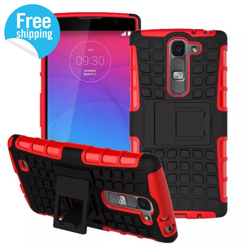 For Fundas LG G4C G4mini Magna Heavy Duty Armor Stand Case for LG G4C G4mini Magna case Protective Cell Phone Shell 5.0'' Coque