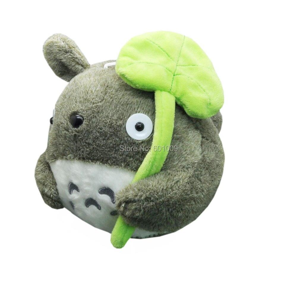 """Freies Verschiffen EMS 30/Lot Japanische Anime Grau Mein Nachbar Totoro Weichem Plüsch Puppe Spielzeug 8""""-in Gefüllte & Plüschtiere aus Spielzeug und Hobbys bei  Gruppe 1"""