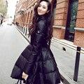 Snow Wear Wadded Jacket Female 2016 Autumn And Winter Jacket Women Slim Cotton-Padded Jacket Outerwear Winter Coat Women A015