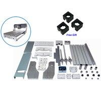3040 DIY CNC rahmen drehmaschine kit von cnc router ball schraube gravur maschine mit 3 stücke stepper motor halterung