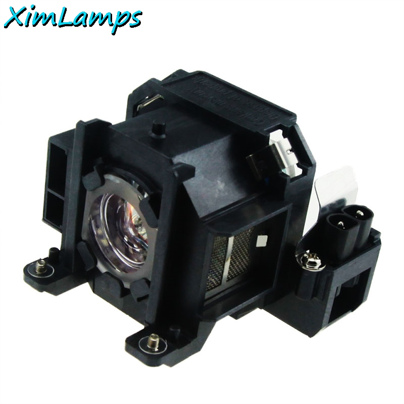 Xim Lamps V13H010L38/ELPLP38 Generic Projector Bare Lamp With Housing For Epson EMP-1715, EMP-1700, EMP-1707, EMP-1710, EMP-1717 elplp38 v13h010l38 high quality projector lamp with housing for epson emp 1700 emp 1705 emp 1707 emp 1710 emp 1715 emp 1717