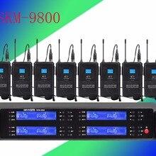 SKM-9800 Pro 8 профессиональный сценический беспроводной микрофон