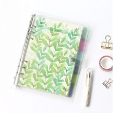 2017 PP Material Dividers for Dokibook Notebook Candy Flower Index Paper Core for Agenda Planner Organizer Separator A5 A6 A7