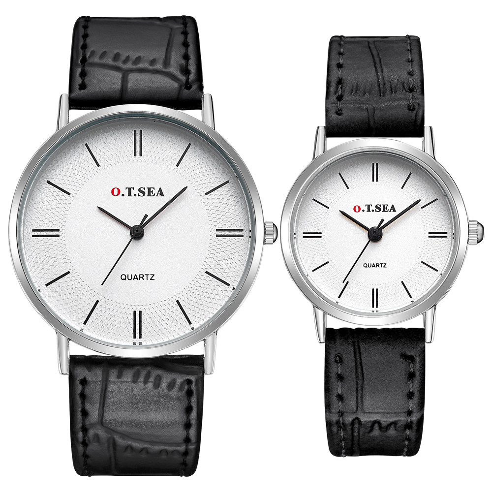 2PC Couple Quartz Wrist Watches Men Luxury Brand Womens Watches Relogio Masculino Lover's Watches Bayan Kol Saati Clock Ladies