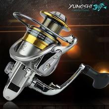 YUMOSHI Metal Spool Spinning Fishing Reel 13+1BB Superior Wheel for Freshwater Saltwater Fishing 1000 – 7000 Series