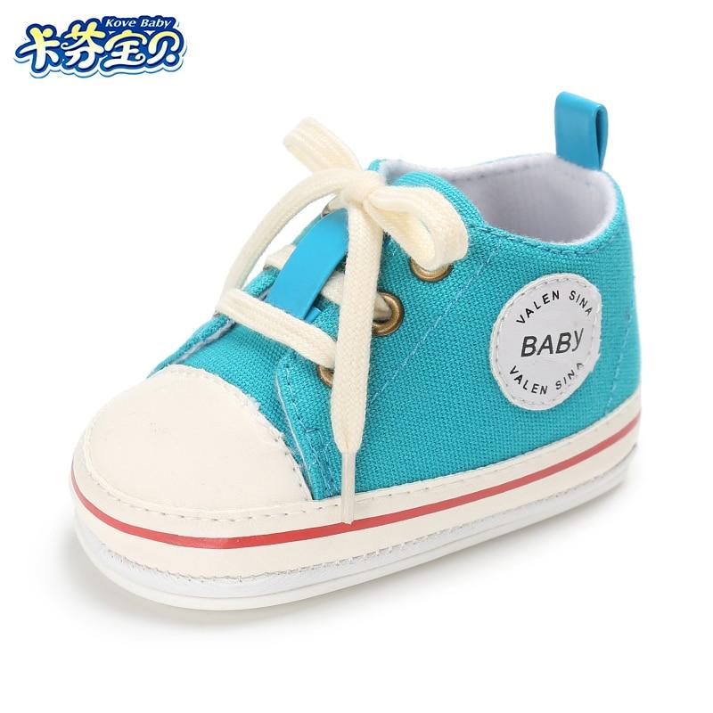 Zapatos de bebé de lona respirables 0-18 meses Zapatos de niño 8 - Zapatos de bebé