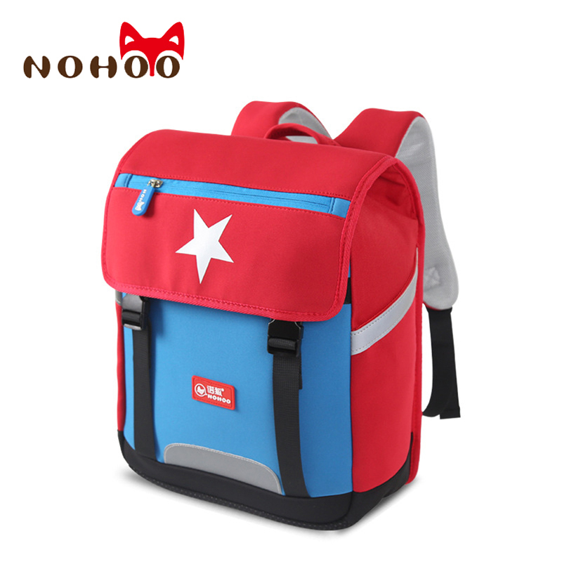 Nohoo Children School Bag for Girls Larger School Bags Kids Backpack Boy Primary Schoolbag Children Backpacks for 8-12 Years Old children school bag minecraft cartoon backpack pupils printing school bags hot game backpacks for boys and girls mochila escolar