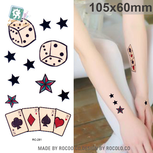 10 Pcs Limited Promotion Korean Tattoos Small Fresh Elements Co