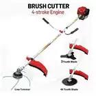 Professional trimmer cutter work 4 Stroke Engine GX35 Copy model brush cutter grass trimmer 3T blade 40T blade 3 in 1