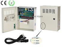 CCTV 18 canaux entrée AC 100-240V dc 12V 10A UPS Box alimentation batterie de soutien CE ROHS pour caméra de vidéosurveillance