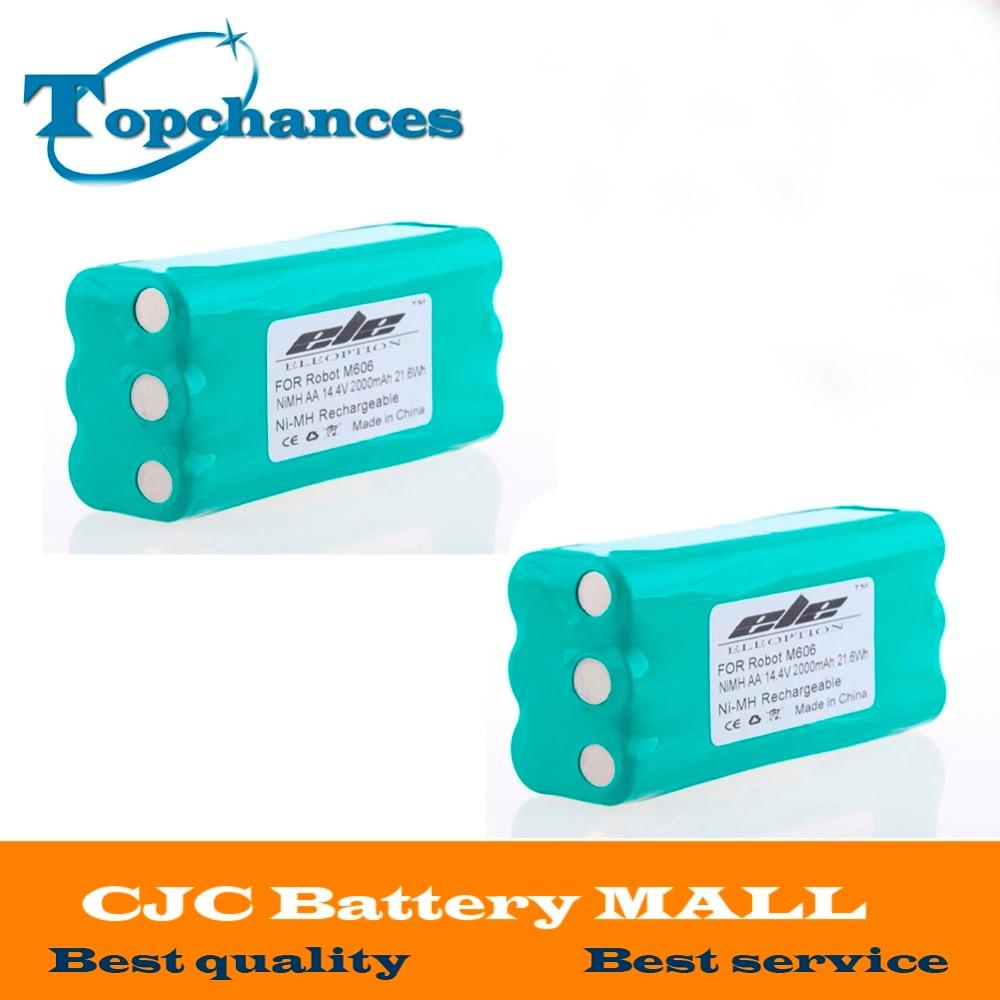 2PCS High Quality 14 4V 2000mAh 2 0Ah Ni MH Replacement Vacuum Battery For Libero Vacuum