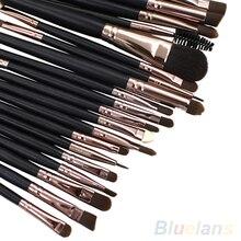 New 20Pcs Cosmetic Sets Soft Powder Foundation Eyeshadow Eyeliner Lip Makeup Brushes