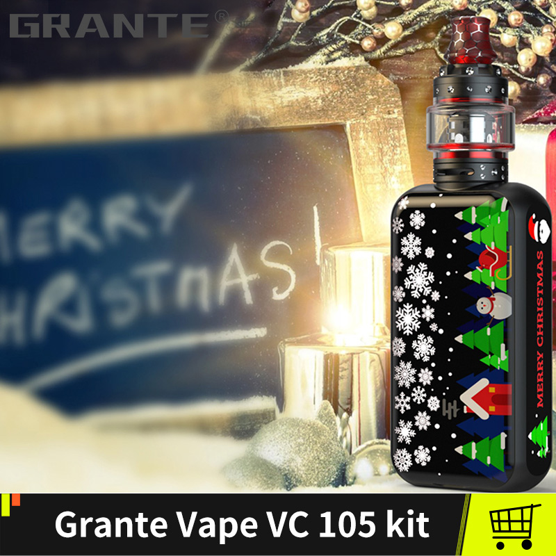 Grante Vape boîte Mod Kit 3.5 ml haut remplissage atomiseur avec 0.5 ohms bobine sans 18650 batterie Vape Mod vaporisateur VS SMOKS x-priv