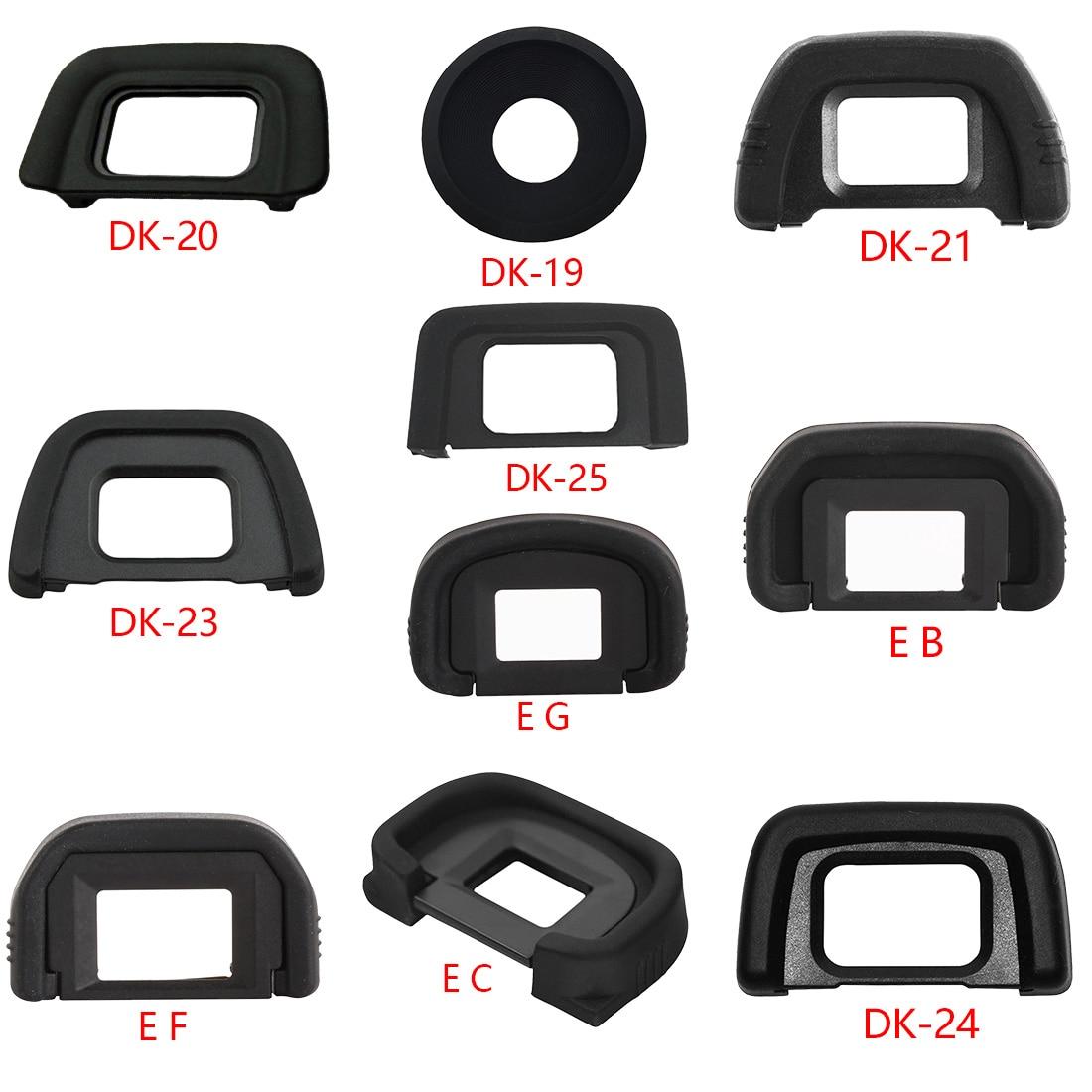 Новое поступление, высококачественный резиновый наглазник для Nikon, Canon, SLR, с чехлом для глаз, с рисунком в виде чашек для глаз, для Nikon, Canon, с ри...