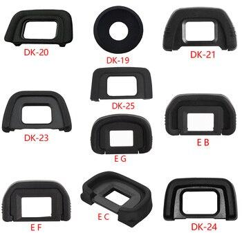 New Arrival DK-19 DK-20 DK-21 DK-23 DK-24 DK-25 EF EB EG EC High Quality Rubber Eye Cup Eyepiece Eyecup for Nikon Canon SLR Came