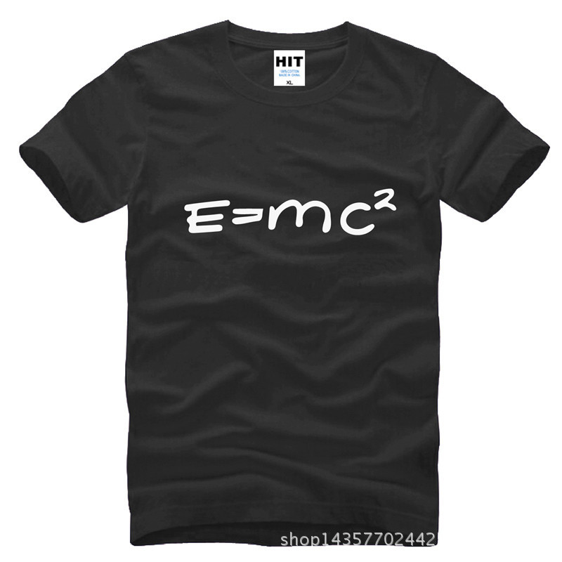 Big Bang theory of evolution Einstein mass energy equation E = mc ^ 2 Printed Mens Men T Shirt T-Shirt 2015 Cotton Tshirt Tee ...