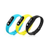 Multifunctional Bluetooth IP65 Pedometer Heart Rate Monitor Smart Wristband Bracelet
