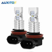 2x H16 H8 H11 9005 9006 HB3 HB4 LED Fog Light Bulb 2020 Chips Car LED Daytime Running Light 6000K White DRL LED Fog Lamp 12V
