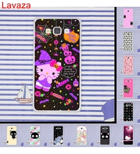 Lavaza Hello Kitty kuromi Little Twin Stars Hard Transparent for Galaxy S2 S3 S4 S5 & Mini S6 S7 Edge S8 Plus