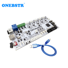 Special Supply 3D Printer Accessories Ultimaker V2.1.4 Control Board Ultimaker 2 Generations Board Finished Board Free shipping 3d printer control board gt2560 support dual extruder power than atmega2560 ultimaker 3