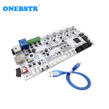 Ultimaker 2 V2.1.4 Control Board Generations Finished Board UM2 3D Printer parts Special Supply Free shipping free shipping 100% tested for hp3330mfp formatter board c8542 60001 printer parts on sale