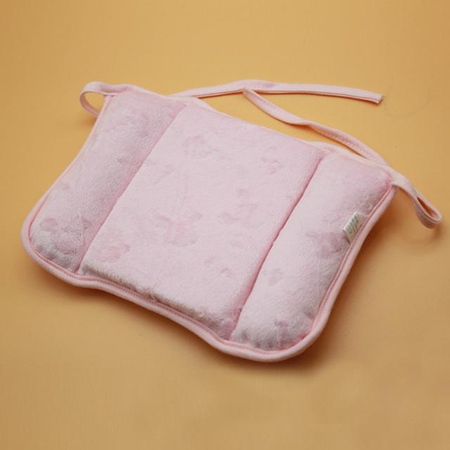 1 pc Adorável Recém-nascidos Da Criança Seguro Anti Rolo Bebê Travesseiro Sono Cabeça Posicionador Prevenção Cabeça Chata