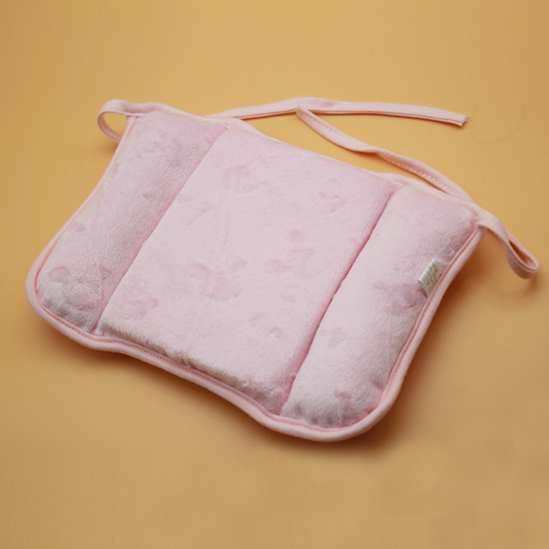 1 pc Lovely Newborn Toddler Safe Anti Roll Baby Infant Pillow Sleep Head Positioner Preventing Flat Head