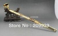 Huij 0012 Chinês Antigo Scaleable grande tubo de bronze hand made projeto do dragão Chinês de 17 polegadas|dragon sticker|designer kids clothes wholesale|dragon baseball -