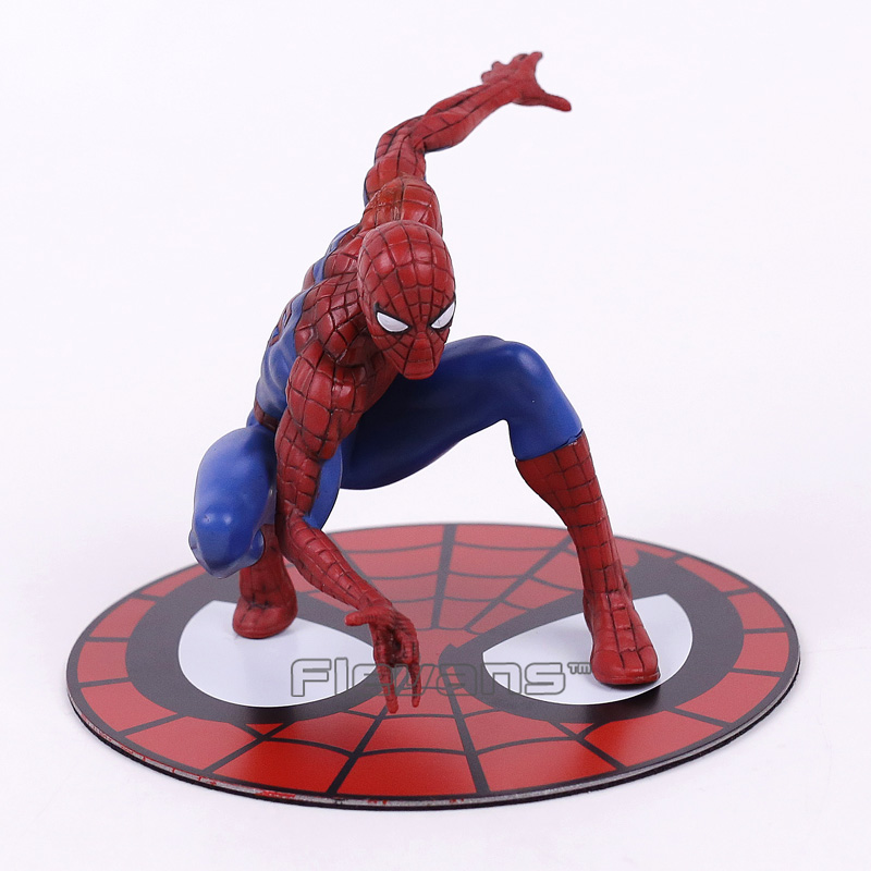 Cool ! Marvel Super Hero The Amazing Spider-man Spiderman PVC Figure Collectible Model Toy 10cm 18cm super hero marvel x man deadpool figure pvc doll deadpool action figure collectible toy christmas gifts no origin box