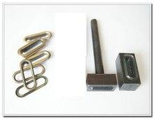 1 polegada ( 25 mm ) ovale Grommet outil, Oeil ovale outil, Grommer œillet setter, Ovale oeillet réglage outils